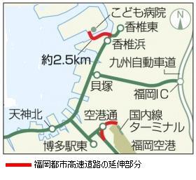 高速道路延伸図